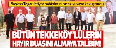 Bütün Tekkeköy'lülerin Hayır Duasını Almaya Talibim!