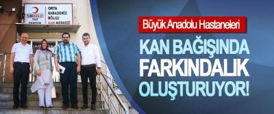 Büyük Anadolu Hastaneleri Kan bağışında farkındalık oluşturuyor!