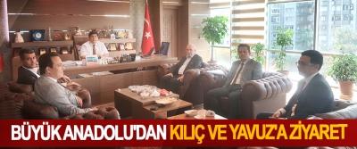 Büyük Anadolu'dan Kılıç Ve Yavuz'a Ziyaret
