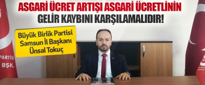 Büyük Birlik Partisi Samsun İl Başkanı Ünsal Tokuç