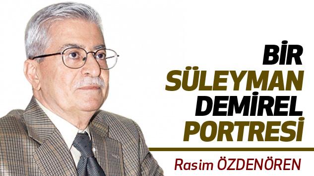 Bir Süleyman Demirel Portresi