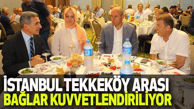 İstanbul Tekkeköy Arası Bağlar Kuvvetlendiriliyor