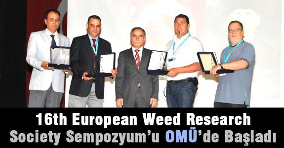 16. Avrupa Yabancı Ot Araştırmaları Derneği Sempozyum'u OMÜ'de Başladı