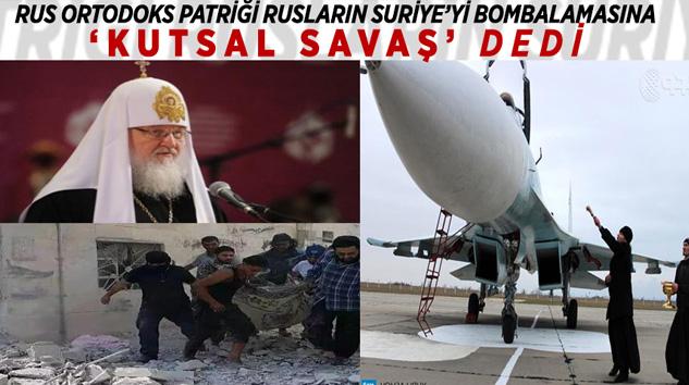 Papa Rus Uçaklarını Kutsadı