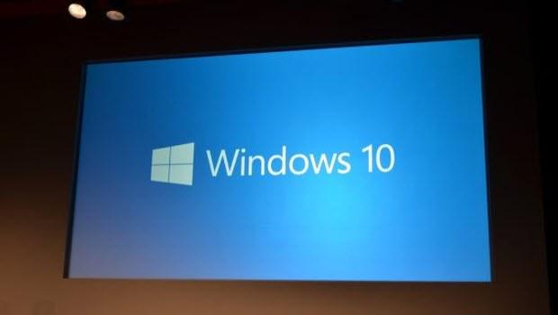 İşte karşınızda Windows 10