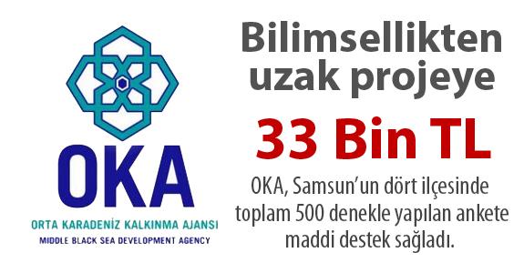 Bilimsellikten uzak projeye 33 Bin TL