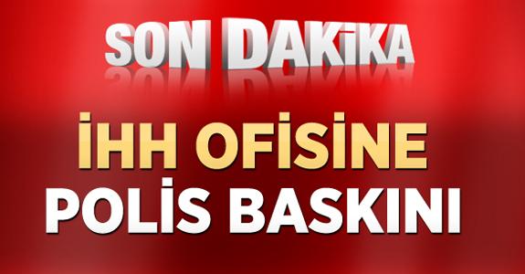 İHH'NIN KİLİS OFİSİNE POLİS BASKINI