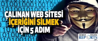 Çalınan Web Sitesi İçeriğini Silmek İçin 5 Adım