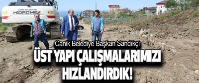 Canik Belediye Başkan Sandıkçı