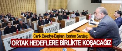 Canik Belediye Başkanı İbrahim Sandıkçı: Ortak Hedeflere Birlikte Koşacağız