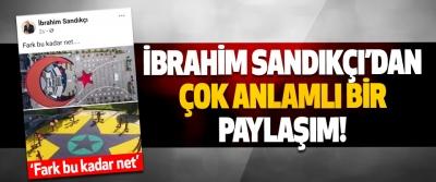 Canik Belediye Başkanı İbrahim Sandıkçı'dan Çok Anlamlı Bir Paylaşım!