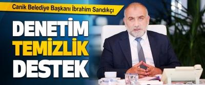 Canik Belediye Başkanı İbrahim Sandıkçı