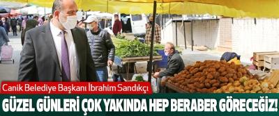 Canik Belediye Başkanı İbrahim Sandıkçı Güzel genleri çok yakında hep beraber göreceğiz!