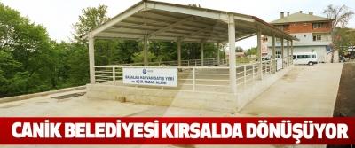 Canik Belediyesi Kırsalda Dönüşüyor
