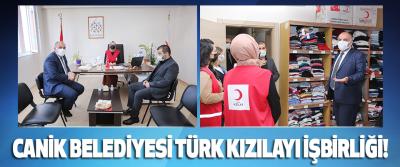 Canik Belediyesi Türk Kızılayı İşbirliği!