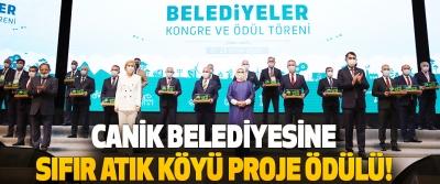 Canik Belediyesine Sıfır Atık Köyü Proje Ödülü!