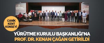 Canik Kent Konseyi Yürütme Kurulu Başkanlığı'na Prof. Dr. Kenan Çağan Getirildi