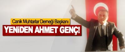 Canik Muhtarlar Derneği Başkanı Yeniden Ahmet Genç!