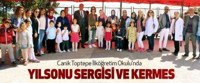 Canik Toptepe İlköğretim Okulu'nda Yılsonu Sergisi Ve Kermes