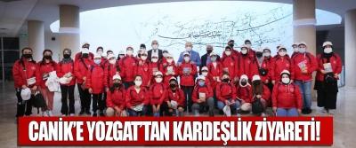 Canik'e Yozgat'tan kardeşlik ziyareti!