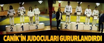 Canik'in Judocuları Gururlandırdı