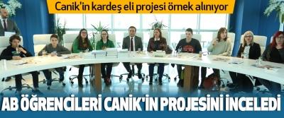 Canik'in kardeş eli projesi örnek alınıyor