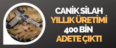 Canik'in Yıllık Üretimi 400 Bin Adete Çıktı