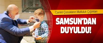Canikli Çocukların Mutluluk Çığlıkları Samsun'dan Duyuldu!