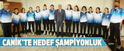Canik'te Hedef Şampiyonluk