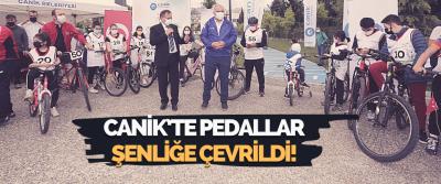 Canik'te Pedallar Şenliğe Çevrildi!