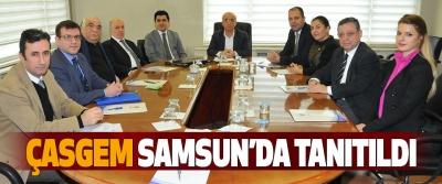 ÇASGEM Samsun'da tanıtıldı
