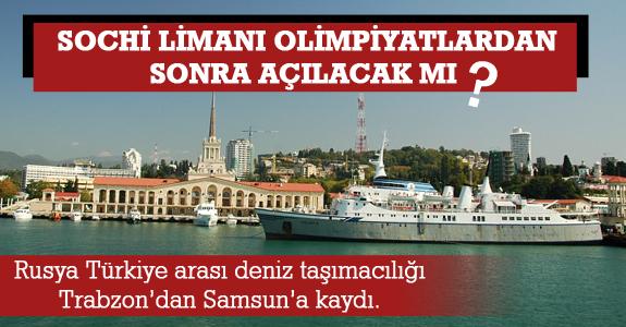 Sochi limanı olimpiyatlardan sonra açılacak mı?