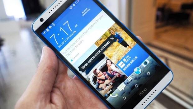 HTC'den selfie telefonu: HTC Desire 820