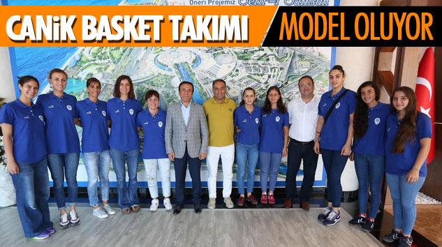 Canik Basket Takımı Model Oluyor