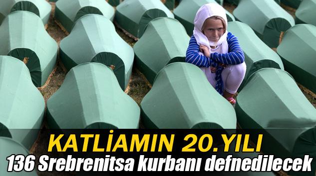 Srebrenitsa Katliamı'nın 20.yılı anılıyor
