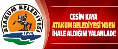 Cesim Kaya Atakum Belediyesi'nden İhale Aldığını Yalanladı!