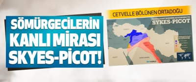 Cetvelle Bölünen Ortadoğu