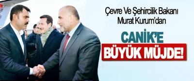 Çevre Ve Şehircilik Bakanı Murat Kurum'dan Canik'e Büyük Müjde!