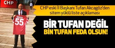 CHP eski İl Başkanı Tufan Akcagöz'den sitem yüklü liste açıklaması