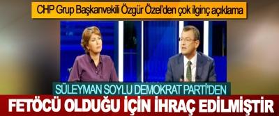CHP Grup Başkanvekili Özgür Özel'den çok ilginç açıklama