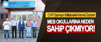 CHP Samsun Milletvekili Kemal Zeybek: MEB Okullarına Neden Sahip Çıkmıyor!