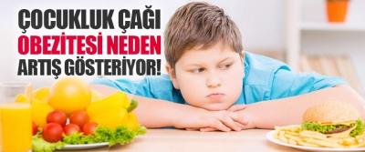 Çocukluk Çağı Obezitesi Neden Artış Gösteriyor!