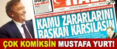 Çok Komiksin Mustafa Yurt!