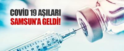 Covid 19 Aşıları Samsun'a Geldi!