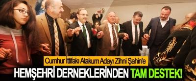 Cumhur İttifakı Atakum Adayı Zihni Şahin'e Hemşehri derneklerinden tam destek!