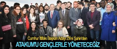 Cumhur İttifakı Başkan Adayı Zihni Şahin; Atakum'u Gençlerle Yöneteceğiz