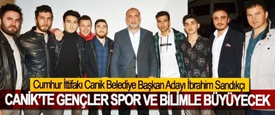 Cumhur İttifakı Canik Belediye Başkan Adayı İbrahim Sandıkçı; Canik'te Gençler Spor Ve Bilimle Büyüyecek