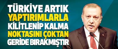 """Cumhurbaşkanı Erdoğan """"Türkiye Artık Yaptırımlarla Kilitlenip Kalma Noktasını Çoktan Geride Bırakmıştır"""""""