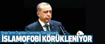 Cumhurbaşkanı Erdoğan: Proje Terör Örgütleri Üzerinden Tüm Dünyada İslamofobi Körükleniyor