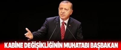 Cumhurbaşkanı Erdoğan: Kabine Değişikliğinin Muhatabı Başbakan